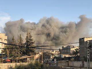 18شهيد حصيلة العدوان الاسرائيلي على قطاع غزة ،والمقاومة ترد برشقات صاروخية كثيفة .