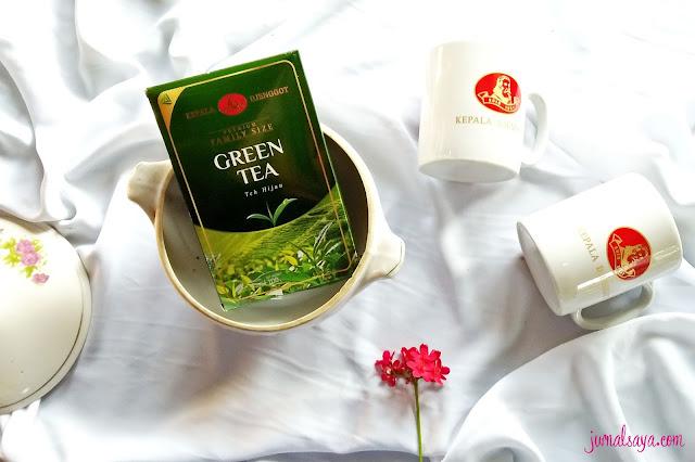 teh hijau cap kepala djenggot