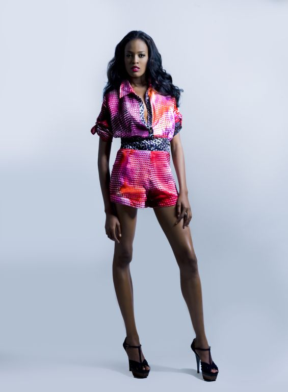 "Tiffany Amber Spring/Summer 2011 collection "" Raw Glamour"""