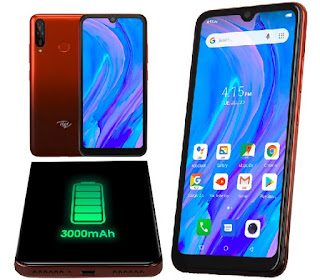Itel Smartphones - S15 Android™ 9.0 Pie Phone - Face/Fingerprint ID Security, 6.1-Inch HD+ Screen, AI Cameras - Nigeria