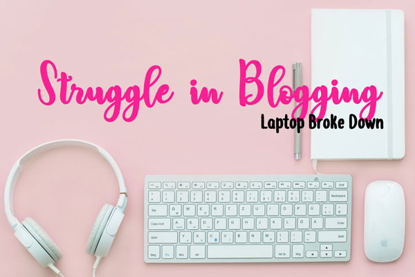 blogging struggle
