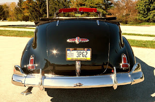 1941 Buick Super 51C Convertible Rear