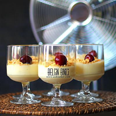 MUZLU PUDİNG (EV YAPIMI) MUHALLEBi TARiFi Nasıl Yapılır kolay lezzetli nefis videolu tatlı yemek tarifleri