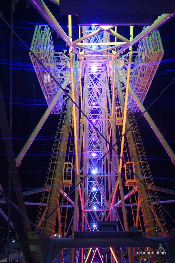gondola ferris wheel aeon mall cakung jakarta timur