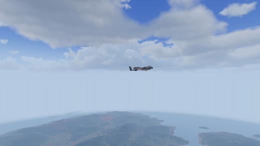 Arma3で雲の位置など高くするMOD