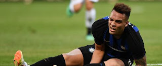 Inter Milano striker Lautaro Martinez