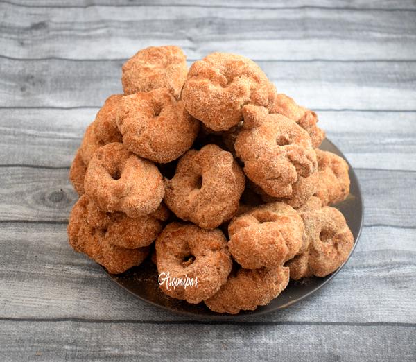 Roscos Fritos de Pedrera. Vídeo Receta