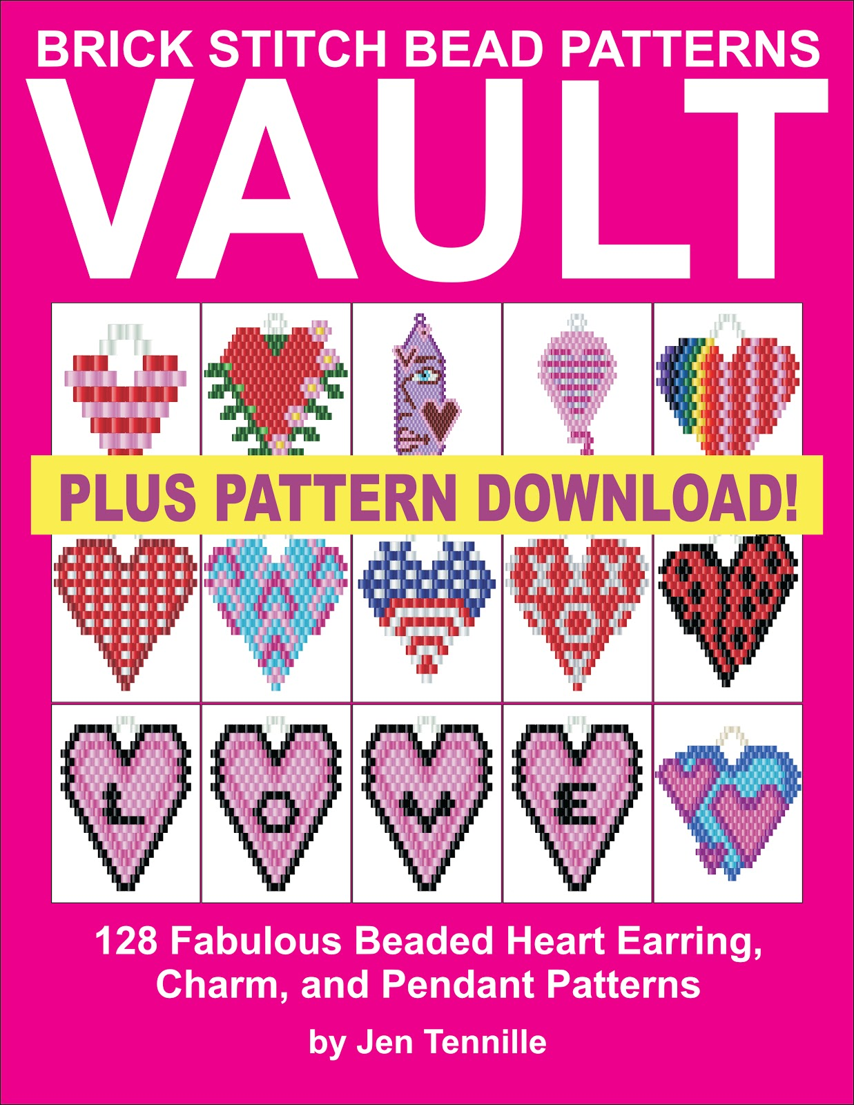 Free Beading Patterns To Download Letter Pendant