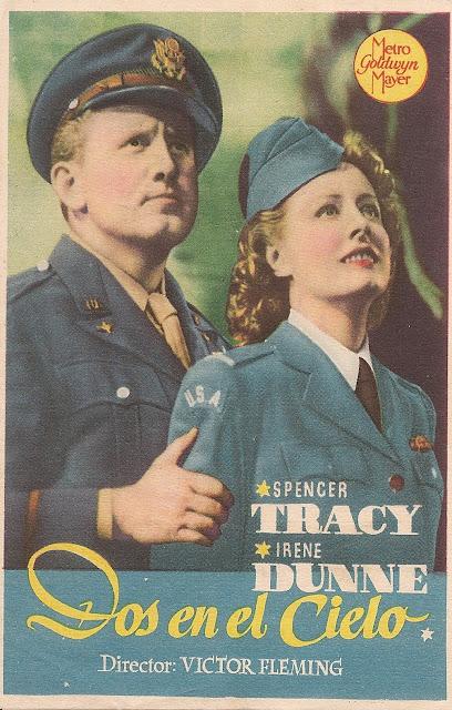 Programa de Cine - Dos en el Cielo - Spencer Tracy - Irene Dunne