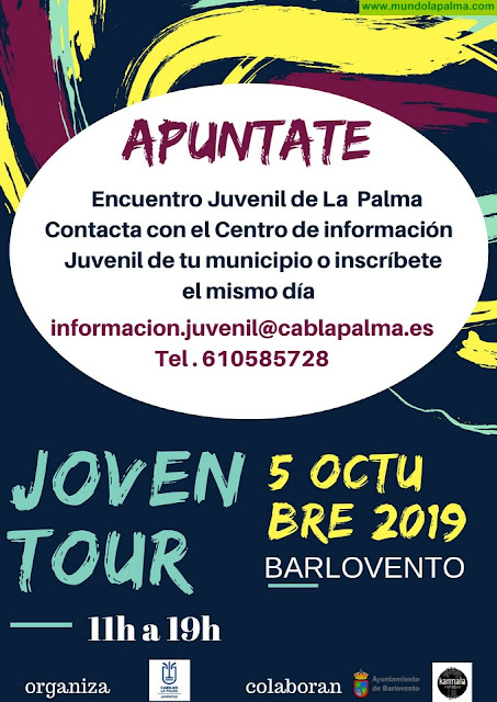 El Cabildo organiza este sábado en Barlovento un programa juvenil gratuito con actividades lúdicas, culturales y formativo