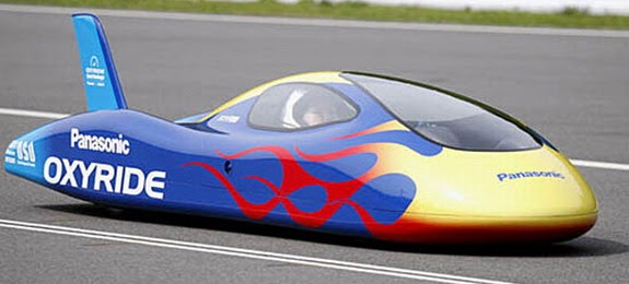 Fast Cars Of The World: World's Fastest Dry Cell Battery Powered Car - Osaka  - Japan