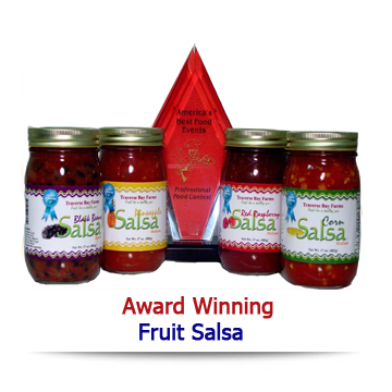 Traverse Bay Farms award winning salsas