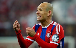 Manchester City to make £24million for Arjen Robben