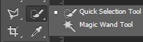 Công cụ Magic wand tool