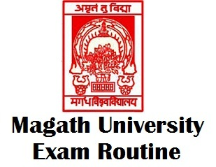 Magadh University Bodh Gaya Exam Schedule 2018