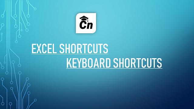 Excel Shortcuts; Keyboard Shortcuts, Careerneeti Logo