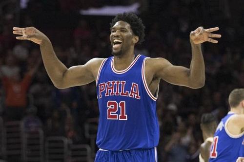 Le dunk monstrueux du basketteur camerounais Joël Embiid en NBA (Vidéo)