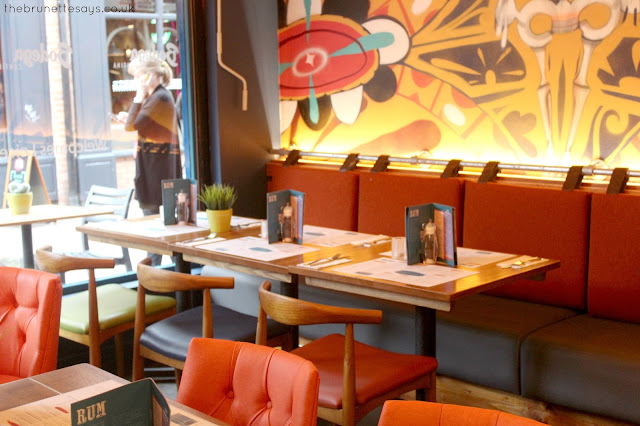 leicester, food, local, south american food, bodega cantina
