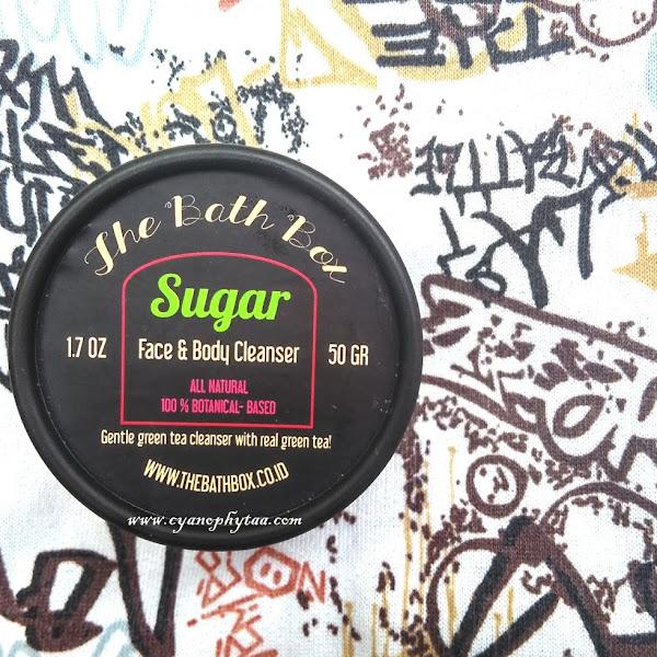 The Bath Box Sugar Face & Body Cleanser