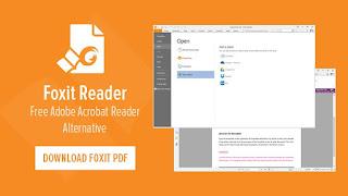 برنامج FoxitReader لقرائة جميع ملفات pdf يدعم العربية