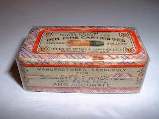 UMC .22 RF Ammo Box Antique