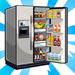 viral famousrestaurants refrigerator 75x75 - Material CityVille: O restaurante famoso