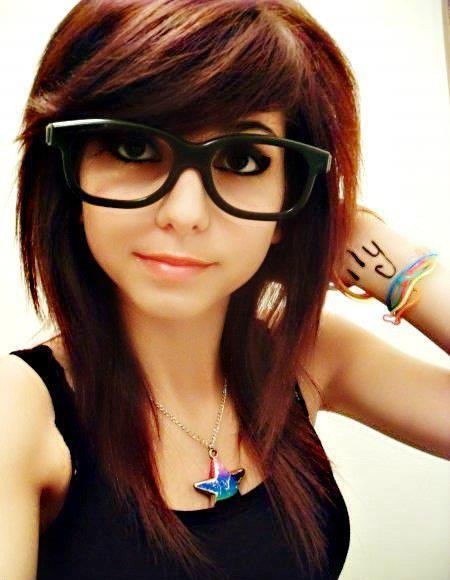 funnyboy avki- girl glasses