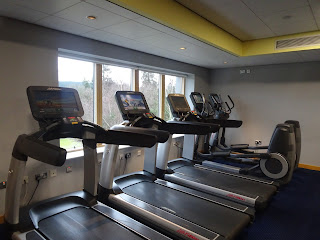 treadmills in health spa