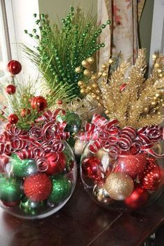 O Natal está chegando e nessa época tem muitas coisas bonitas para decorar a casa, hoje o blog trouxe algumas decorações de Natal pra você se inspirar, então inspire-se.
