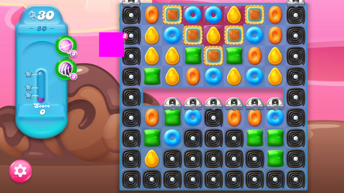 Candy Crush Jelly Saga 80