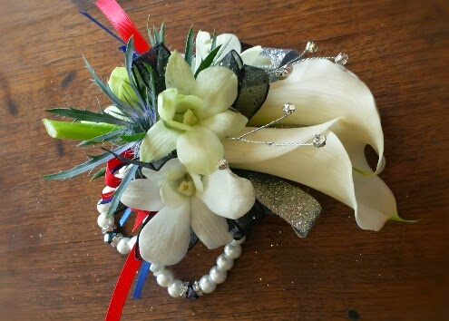 Calla Lily Corsages and Boutonnieres -Prom '15 wrap up #PromFlowers