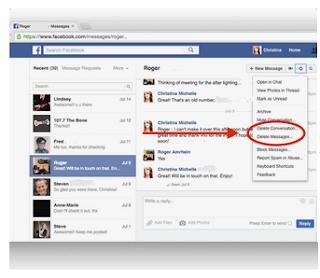 Begini Cara Menghapus Pesan Facebook dengan mudah