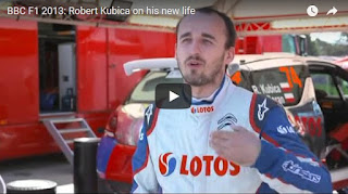 BBC F1 2013: Robert Kubica on his new life