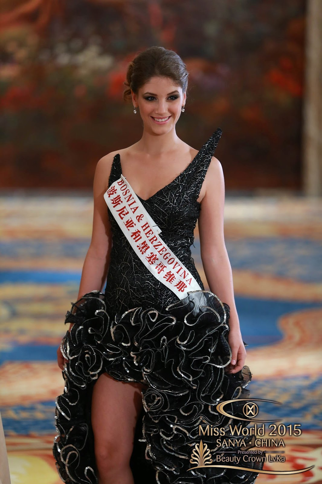 Nick Verreos Sashes And Tiaras Miss World 2015 World Fashion Designer Dress The Top Ten