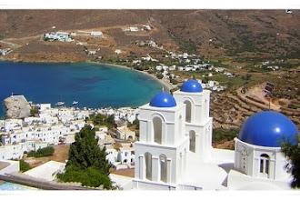 Ilha Amorgós na Grécia