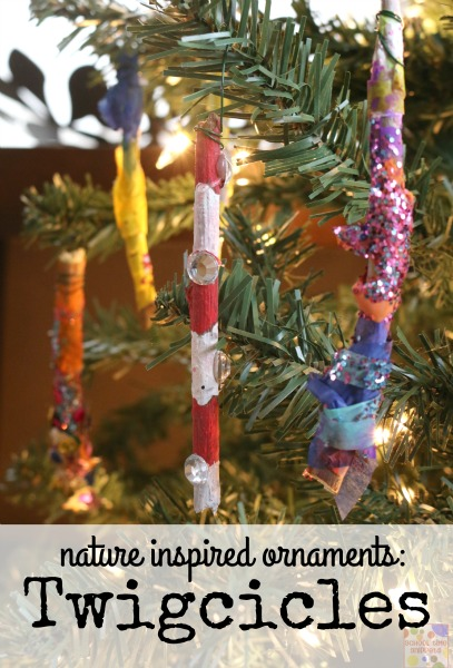 nature inspired christmas ornament kids can make - Icicle Christmas Decorations