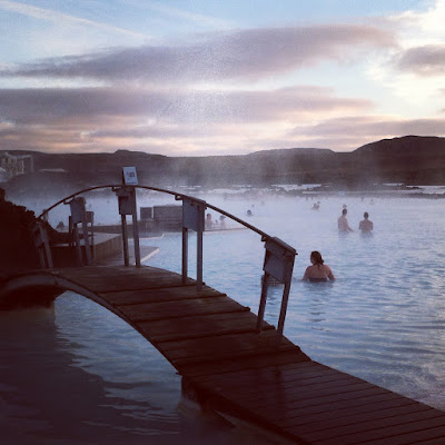 Blue Lagoon geothermal spa outside Reykjavik, Iceland
