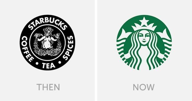 logo starbucks dulu dan sekarang