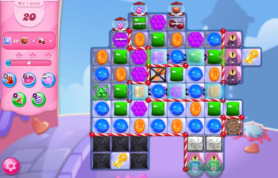 Candy Crush Saga level 6499
