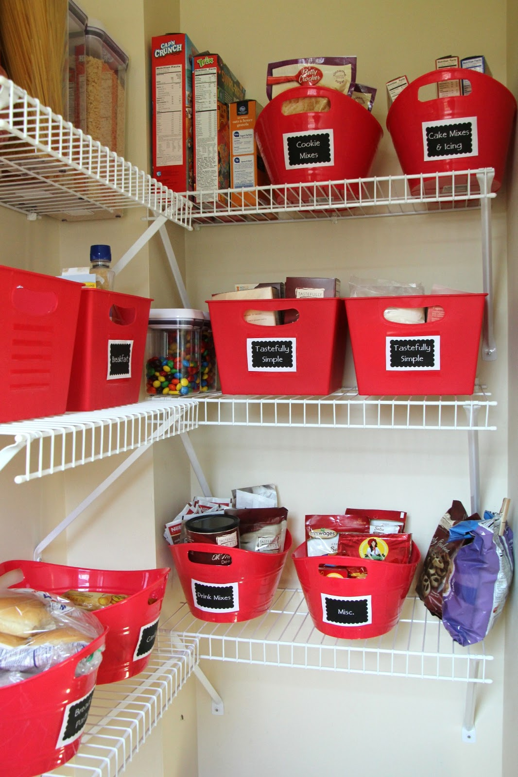 Kitchen Pantry Diy Projects: Lovely Little Life: Kitchen Pantry Makeover
