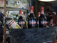 Botella, Aperitivos Cinzano