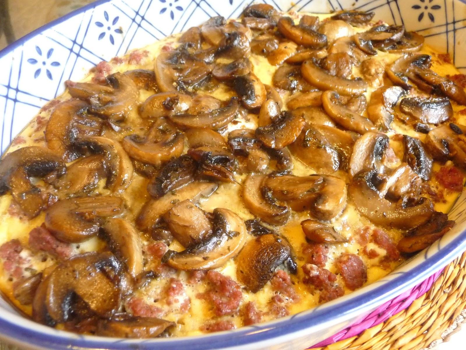 Splendid Low Carbing By Jennifer Eloff Hamburger Mushroom