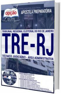 Apostila concurso TRE-RJ 2017 Técnico Judiciário