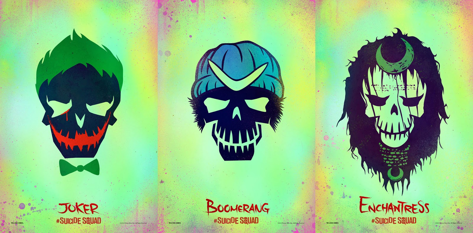 SUICIDE SQUAD Launches Character Icon Logos