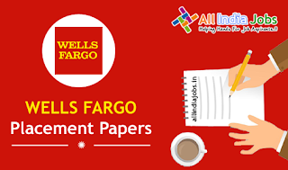 Wells Fargo Placement Papers