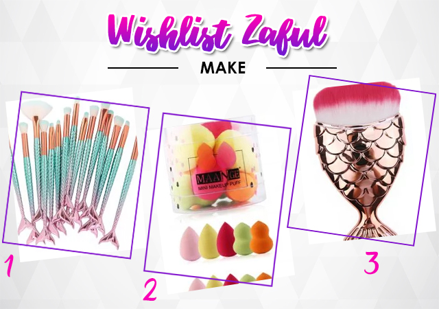 Wishlist Zaful maquiagem