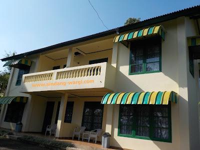 Harga sewa villa di ciater