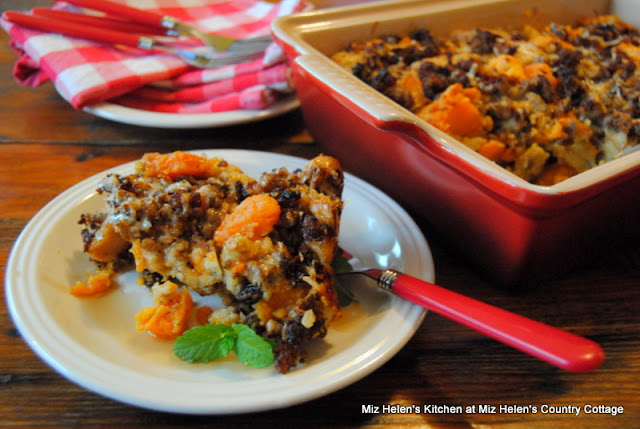 November Food and Recipe Basket at Miz Helen's Country Cottage