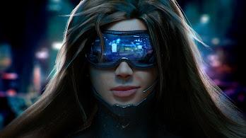 Cyberpunk, Girl, Sci-Fi, 4K, #114