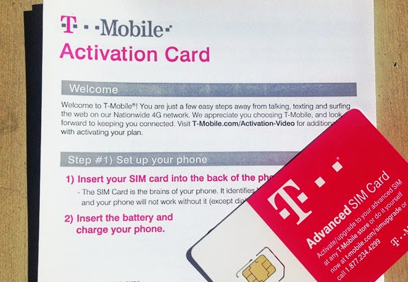 Activate tmobile sim card unlocked phone - serviceapalon